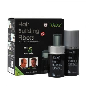 Dexe Hair Building Fibers DARK BROWN (No:2) 22+100ml