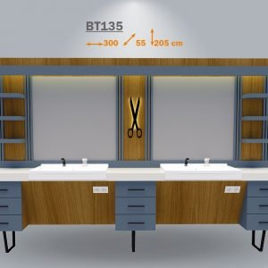 Bate BT 135 Mens Barber Table