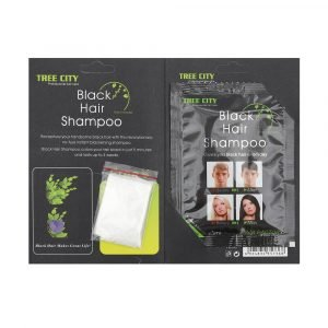Black Hair Shampoo 25mlx24 Pieces